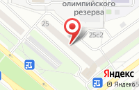 Схема проезда до компании Циклон в Москве
