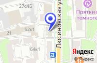 Схема проезда до компании ТЕХНОЛОГИЧЕСКИЙ ИНСТИТУТ ВЕМО в Москве