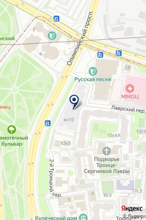 МЕБЕЛЬНЫЙ МАГАЗИН СОЛО на карте Москвы