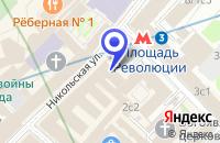 Схема проезда до компании ПАРФЮМЕРНЫЙ МАГАЗИН ДЛЯ ДУША И ДУШИ в Москве