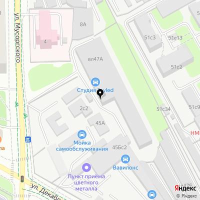 Япона Мама Tuning shop на карте Москвы