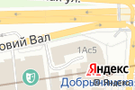 Схема проезда до компании Otto Berg fashion в Москве