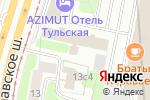 Схема проезда до компании Кифа-Патент в Москве