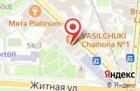 Схема проезда до компании Гарант-Инфоцентр в Москве