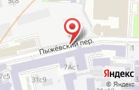 Схема проезда до компании Элемент Р в Москве