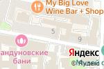 Схема проезда до компании TNT Hostel Moscow в Москве