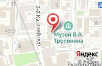 Схема проезда до компании Академстройнаука в Москве