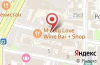 Схема проезда до компании Bagsslove.ru в Москве