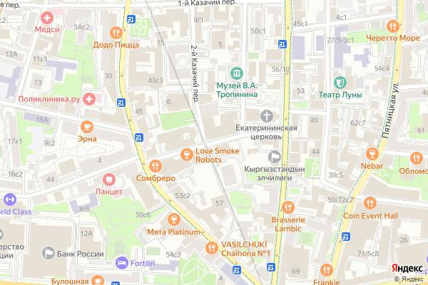 Ремонт телевизоров Погорельский переулок на яндекс карте