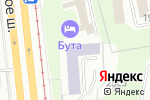 Схема проезда до компании Московская академия экономики и права в Москве
