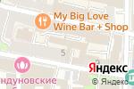 Схема проезда до компании МОНОЛИТ РЕАЛТИ в Москве