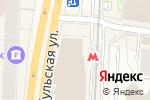 Схема проезда до компании MobiBerry в Москве