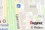 Схема проезда до компании Технический центр департамента культуры, ГКУ в Москве