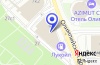 Схема проезда до компании АВТОСЕРВИСНОЕ ПРЕДПРИЯТИЕ МЕРСЕДЕС-БЕНЦ в Москве