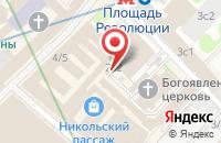 Схема проезда до компании Тейса в Москве