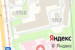 Схема проезда до компании ЮНИТ в Москве
