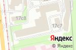 Схема проезда до компании Итальянская мебель в Москве