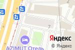 Схема проезда до компании У Своих в Москве