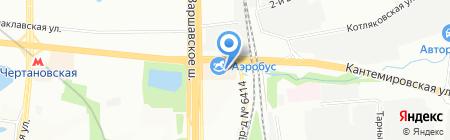 Аригато на карте Москвы