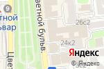 Схема проезда до компании История в Москве