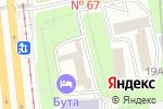 Схема проезда до компании Институт психического здоровья и аддиктологии в Москве