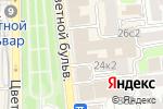 Схема проезда до компании Dream Realty в Москве