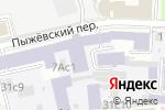 Схема проезда до компании Рустелеком в Москве