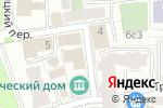 Схема проезда до компании ГК ГазЭнергоСтрой в Москве
