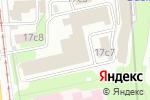 Схема проезда до компании Izume в Москве