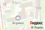 Схема проезда до компании Kirikov Group в Москве