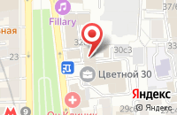 Схема проезда до компании Радос в Москве