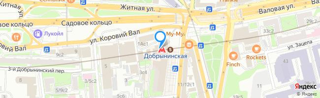 метро Добрынинская