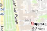 Схема проезда до компании Остров в Москве