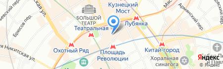 Клуб Путешественников на карте Москвы