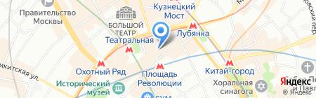Лагуна Коэл на карте Москвы
