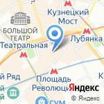 Кэшелот на карте Москвы