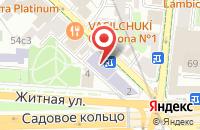 Схема проезда до компании Мсз в Москве