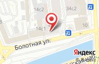 Схема проезда до компании Информационное Агентство  в Москве