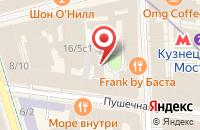 Схема проезда до компании Мегакор в Москве