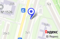 Схема проезда до компании ОДС № 22 в Москве