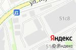 Схема проезда до компании Диктум-Текстиль в Москве