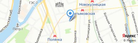 Сто морей на карте Москвы