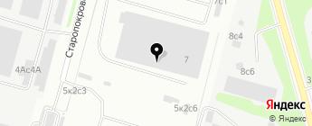 СТО Пит-Стоп на карте Москвы