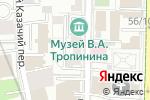 Схема проезда до компании Золотое сечение в Москве