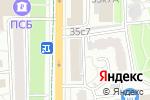 Схема проезда до компании Страховая точка в Москве