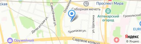 Школа вокала Николая Фокеева на карте Москвы