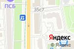 Схема проезда до компании Ваши дачи в Москве