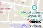 Схема проезда до компании Часовня Богоявления Господня в Москве