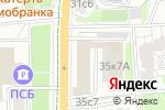Схема проезда до компании Медэко-стом в Москве