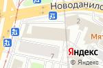 Схема проезда до компании Ректор в Москве